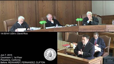 Attorney Leif Kleven presents oral argument before the Ninth Circuit Court of Appeals